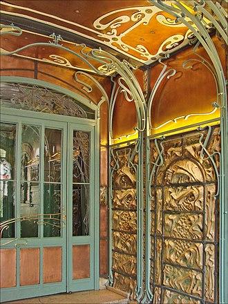 Castel Béranger - Image: Le hall dentrée du Castel Béranger (Hector Guimard) (5479354274)