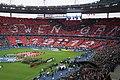 Le tifo guingampais lors de la finale de la Coupe de France.jpg