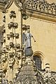 Lead angel playing trumpet cathedral Segovia Spain.jpg