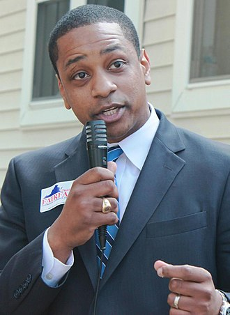 Justin Fairfax - Fairfax campaigning for state attorney general, 2013