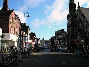 Leek, Staffordshire - Image: Leek 4