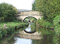 Leek New Road Bridge (No 45), Macclesfield Canal, Cheshire - geograph.org.uk - 551562.jpg