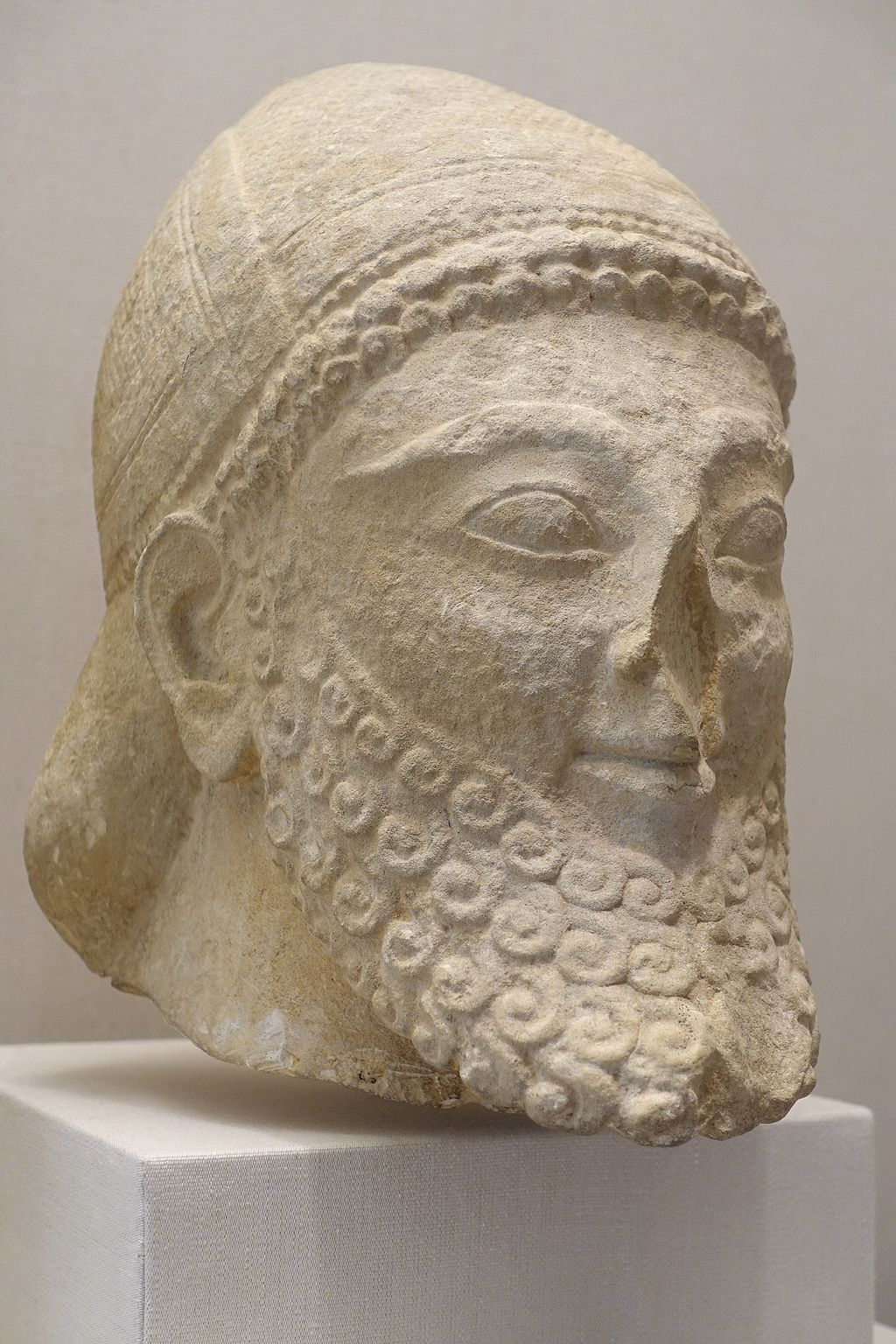 Head of Bearded Man (Cypriot)