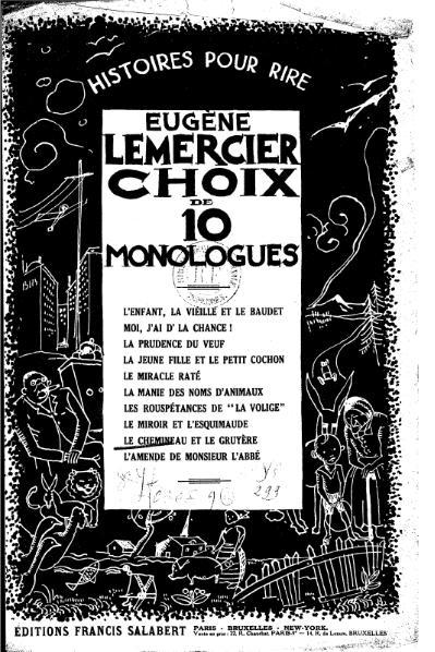 File:Lemercier - Le Chemineau et le Gruyère, 1927.djvu