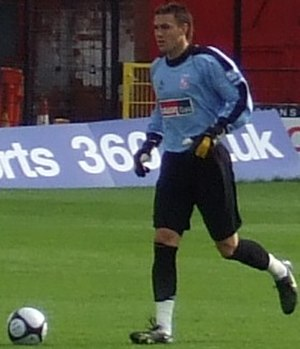 Lenny Pidgeley - Pidgeley playing for Woking in 2008