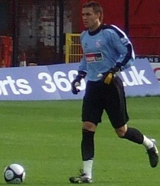 Lenny Pidgeley - Pidgeley playing for Woking in 2008