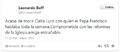 Leonardo Boff-Tweet-por la muerte de Clelia Luro-4Nov2013.png