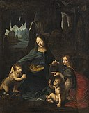 Leonardo da Vinci - The Virgin of the Rocks - KMS3238 - Statens Museum for Kunst.jpg