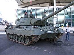 Foto carro armato leopard