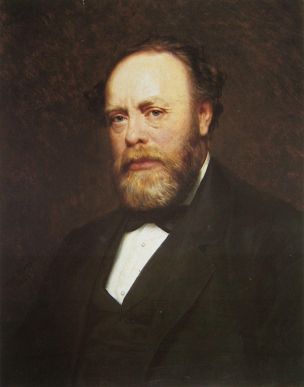 Leopold Ullstein by Oscar Begas, 1882