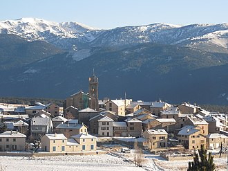 Les Angles, Pyrénées-Orientales - Les Angles in winter