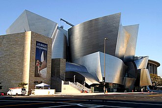 Los Angeles Music Center - Image: Lightmatter waltdisney concerthall