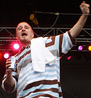 Lil Wyte - Lil Wyte performing at the Beale Street Music Festival in May 2007