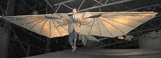 Aircraft fabric covering - A Lillienthal flying machine replica