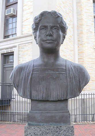 Lillian Wald - Bust of Lillian Wald at the Hall of Fame for Great Americans