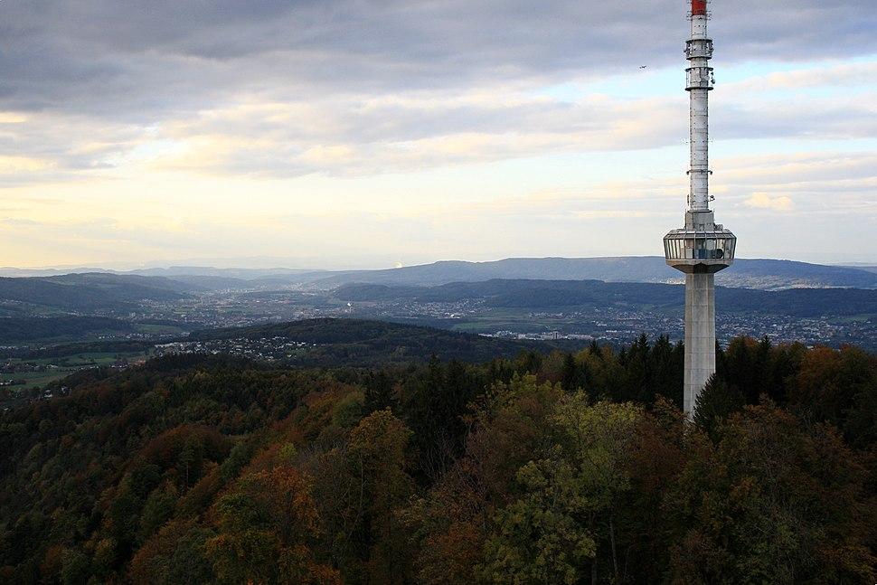 Limmattal - Swisscom-Tower - Uetlibergturm IMG 1652