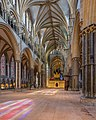 Lincoln Cathedral Nave Stained Glass 2, Lincolnshire, UK - Diliff.jpg