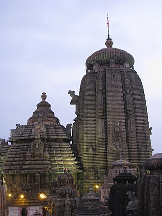 Odisha - Lingaraja Temple built by the Somavanshi king Jajati Keshari