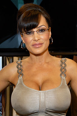 Lisa Ann als Serra Paylin op de AVN Adult Entertainment Expo in Las Vegas (2010)