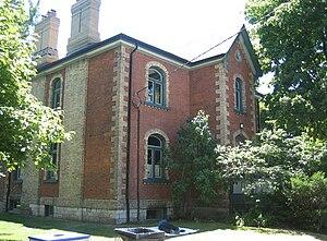 Little Trinity Anglican Church - Image: Little Trinity Rectory Toronto Ontario Canada