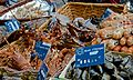 Live crab, Rue Cler, Paris 24 May 2014.jpg