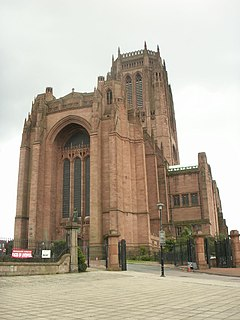 Dean of Liverpool head of the chapter of Liverpool Cathedral