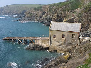 The Lizard Lifeboat Station - The third and final Polpeor Cove lifeboat station was built in 1914.