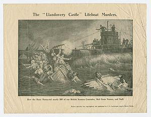 LlandoveryCastleWilkinson, G.W., print (art), 27 June 1918