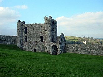 Rhys ap Gruffydd - Rhys gained his first recorded military experience at the age of fourteen when he participated in the storming of Llansteffan Castle in 1146.