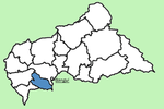 Lobaye Prefecture Central African Republic locator.png