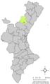 Localització de Fontes respecte del País Valencià.png
