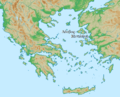 Locator map of Lesbos island and Mytilene in Greece (Ancient Greek).png