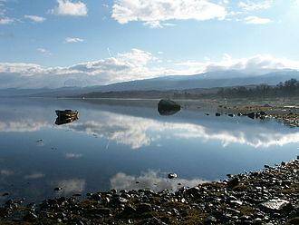 Loch Eil - Looking south east along the shoreline from the western head of Loch Eil.
