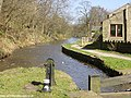 Lock 20 on the Huddersfield Canal, near Greenfield - geograph.org.uk - 2167.jpg