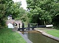Lock No 8 and Double Bridge near Marston, Warwickshire - geograph.org.uk - 1747697.jpg