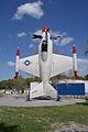 Lockheed XFV-1 Salmon BuNo 138657 Above SNF Setup FLAirMuse 15March2014 (14583000181).jpg