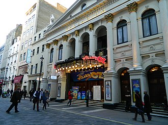 Variety show - First performed in 1912, the Royal Variety Performance was first held at the London Palladium (pictured) in 1941. Performed infront of members of the Royal Family, many famous acts have performed over the century.