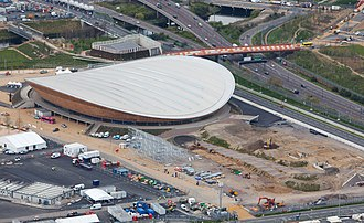 Lee Valley VeloPark - Image: London Velopark, 16 April 2012