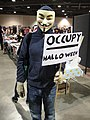 Long Beach Comic & Horror Con 2011 - Occupy Halloween Anonymous protester (6301707946).jpg