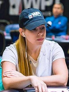 Loni Harwood American poker player