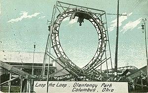 Loop the Loop (Olentangy Park) - Image: Loop the Loop Olentangy