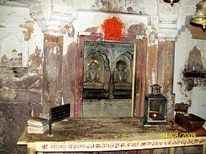 Sambhavanatha - Image: Lord Sumatinath and Laord Sambhavnath at Ranthambore