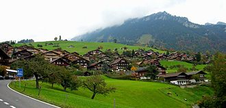 Sigriswil - Houses in the mountains in Sigriswil
