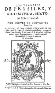 Frontispiece of Persiles and Segismunda.