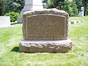 Lou Blonger - Lou Blonger's headstone in Fairmount Cemetery