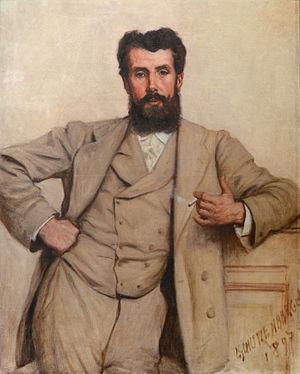 Louis-Frédéric Schützenberger - Portrait of a Man (1897), Musée des Beaux-Arts de Strasbourg.