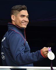 Louis Smith 2012 balcony cropped.jpg