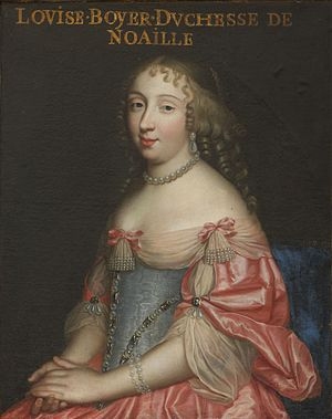 Louise Boyer - Image: Louise Boyer (1632 1697, Duchess of Noailles)