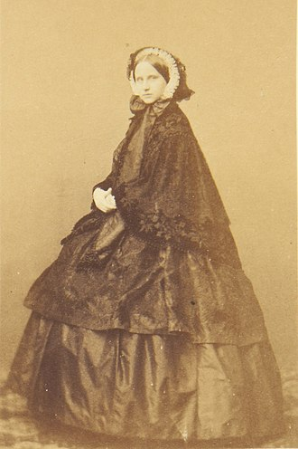 Princess Louise of Prussia - Grand Duchess Louise of Baden, 1860s