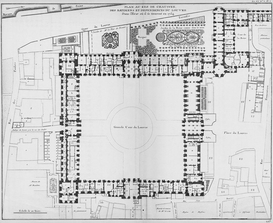 filelouvre plan au rezdechauss233e architecture